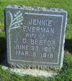 Jennie <i>Everman</i> Bestor