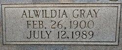 Margaret Alwildia Wilda <i>Gray</i> Baccus