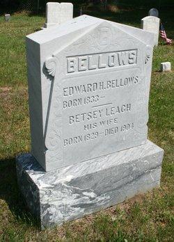 Edward H Bellows