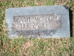 Elizabeth Bessie <i>McCracken</i> Poag