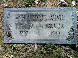 Ann Jane <i>Huddle</i> Auvil