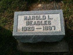 PFC Harold L Beadles