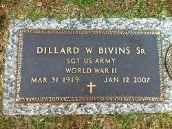 Dillard W. Bivins, Sr