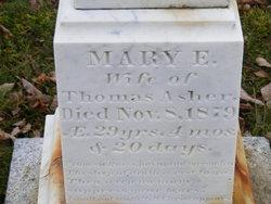Mary E Asher