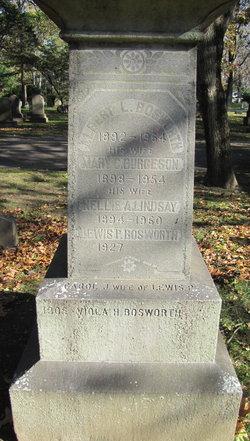 Mary C. <i>Burgeson</i> Bosworth