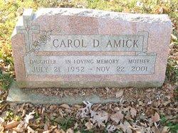 Carol D Amick