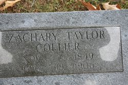 Zachary Taylor Collier