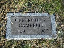Gertrude I <i>Kelley</i> Campbell
