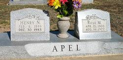 Rose M. Apel