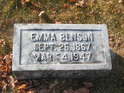 Emma <i>Hollingsworth</i> Benson