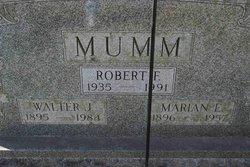 Marian <i>Rideout</i> Mumm