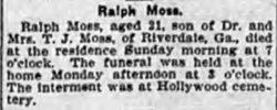 Ralph W. Moss