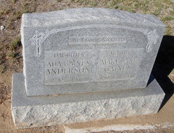 Ada <i>Gaines</i> Anderson