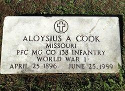 PFC Aloysius A <i>Koch</i> Cook