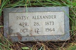 Martha Patsy <i>Pitcher</i> Alexander