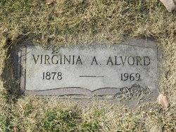 Virginia <i>Burk</i> Alvord