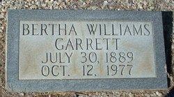 Bertha Mae <i>Williams</i> Garrett