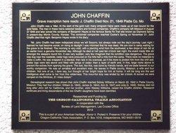 John (Isaac) Chaffin