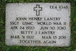 John Henry Jack Lantry