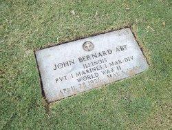 Pvt John Bernard Abt