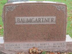 Mary Lillian <i>Cottle</i> Baumgartner