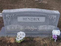 Benjamin F Bennie Hendrix