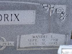 Wandel L Hendrix