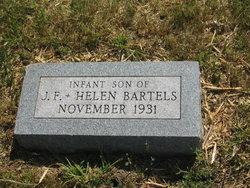 Infant son Bartels