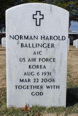 Norman Harold Ballinger