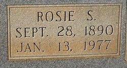 Rosie S <i>Stapp</i> Armistead