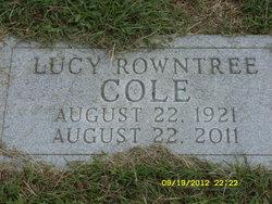 Lucy Ellen Cole