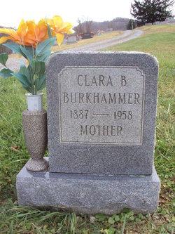 Clara Belle Carrie <i>Ables</i> Burkhammer