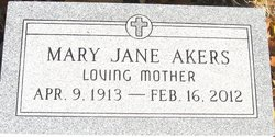 Mary Jane Akers