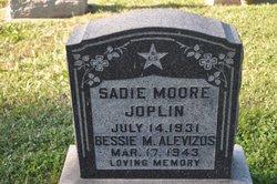 Bessie D <i>Moore</i> Alevizos