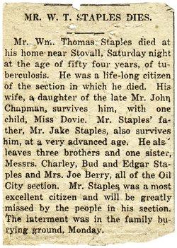 William Thomas Staples