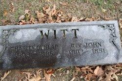 Rev John D Witt