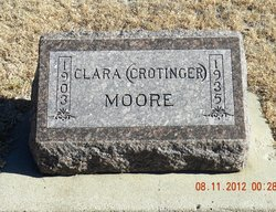 Clara Florence Sister <i>Crotinger</i> Moore