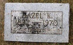 Hazel K Anderson