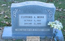 Clifford A Monk