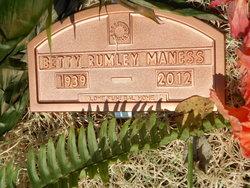 Betty Lou <i>Rumley</i> Maness