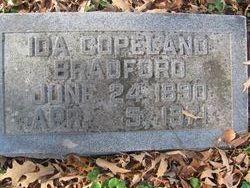Ida <i>Copeland</i> Bradford
