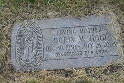 Doris M Judd