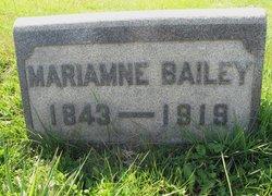 Mariamne <i>Barclay</i> Bailey
