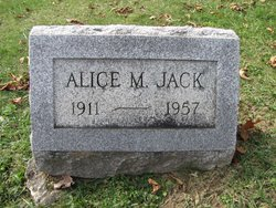 Alice M Jack