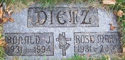 Rose Mary <i>Pape</i> Dietz