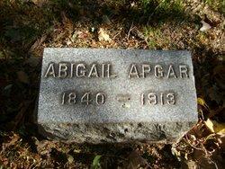 Abigail <i>Wyckoff</i> Apgar