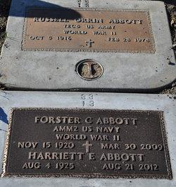 Harriett E Abbott
