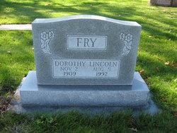 Dorothy <i>Lincoln</i> Fry