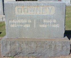 Alexander M Downey