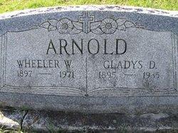 Gladys D Arnold